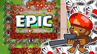 getlinkyoutube.com-SNIPERS ARE AWESOME  ::  Bloons TD Battles  ::  SNIPERS AND SPIKE FACTORIES