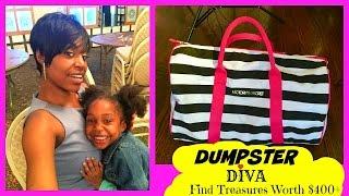 getlinkyoutube.com-Dumpster Diving: Dumpster Diva Find Treasures Worth $400+