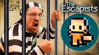 getlinkyoutube.com-Duddy tries to Escape from Jail! Lets Play THE ESCAPISTS!  (FGTEEV Gameplay)