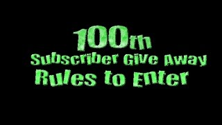 Sandric Cemetery 100th Subscriber Give Away