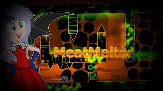 Geometry Dash Demon MeatMelter By Nuclear Nacho 10*