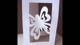 getlinkyoutube.com-MAKE A BUTTERFLY CUT-OUT CARD.