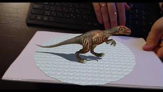 getlinkyoutube.com-Augmented Reality Tutorial No. 26: Unity3D and Vuforia for Dinosaur Control with Arrow Keys