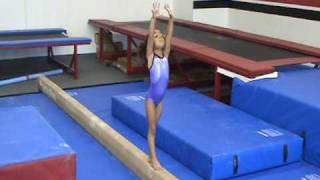 getlinkyoutube.com-Amazing 4 year old Gymnast Konner McClain