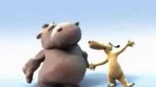 "Happy Hippo & Stan - ""The lion sleeps tonight"""