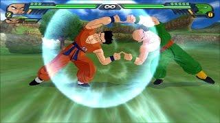 getlinkyoutube.com-Yamcha and Tienshinhan Fusion Dance : Tiencha VS Zangya (Dragonball Z Budokai Tenkaichi 3 mod)
