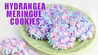 getlinkyoutube.com-HYDRANGEA MERINGUE COOKIES FOR MOTHER'S DAY, HANIELA'S