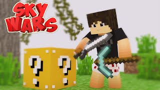 getlinkyoutube.com-Server de Skywars com LUCKY BLOCK Para Minecraft Pe 0.16.0