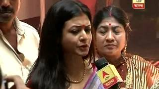 getlinkyoutube.com-Bengali film stars Koyel and Ranjit Mallick busy with Saptami puja preparation in their house