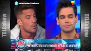 Luego de Gran Hermano 2015, Matías Schrank siguió su pelea con Francisco y Fernando  Pasó en la TV,