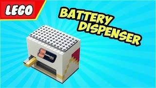 getlinkyoutube.com-LEGO Battery Dispenser 'Cool'