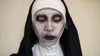 getlinkyoutube.com-「死霊館2(The Conjuring 2)」Valakメイク方法(化粧)Valak Makeup Tutorial