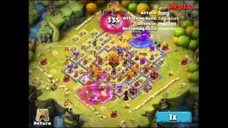 getlinkyoutube.com-Clash of Lords 2 - Guild Clash Clearing rEvolution Stronghold