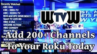 getlinkyoutube.com-WoWtv For Roku 1, 2 and 3 LIVE TV STREAMING 200+ Channels | Nanoflix IPTV