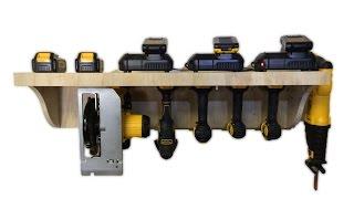 getlinkyoutube.com-BUILD: Modular Tool Charging Station
