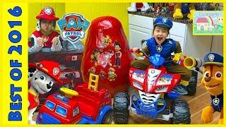 getlinkyoutube.com-The BIGGEST Paw Patrol Egg Surprise Toys Kinder Eggs Compilation PowerWheels Marshall & Chase
