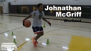 getlinkyoutube.com-Johnathan McGriff Workout Part 2 (BEST HANDLES on the PLANET) - Coach Godwin Ep: 172