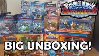 getlinkyoutube.com-BIG UNBOXING Skylanders SuperChargers!