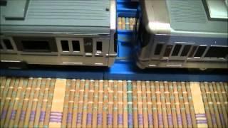 プラレール 223系・225系 輪ゴムで簡単連結
