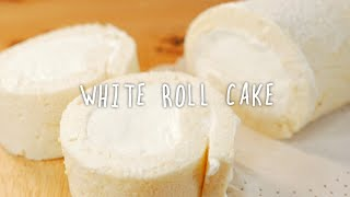 getlinkyoutube.com-(ENG)새하얀 롤케이크 真っ白ロールケーキ How to make a White roll cake [스윗더미 . Sweet The MI]