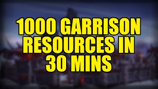 getlinkyoutube.com-1000 Garrison Resources in 30 minutes (Zumio method)