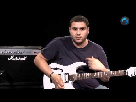 Padr�o 2 notas por corda - Aula T�cnica de Guitarra