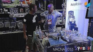 English Acryliclear   How to remove scratches & polish your acrylic tank | MACNA 2015 | Meerwasser L
