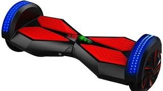 getlinkyoutube.com-Unboxing Smart Balance Wheel Segway Hoverboard Bluetooth LED Lights IO Hawk