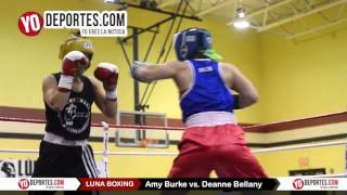 Amy Burke vs. Deanne Bellany Joliet Luna Boxing 2015