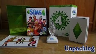 getlinkyoutube.com-Unpacking - The Sims 4 Edycja Kolekcjonerska