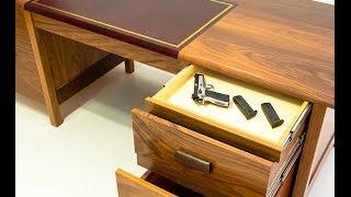 QLine Tactical Desk with secret hidden compartments