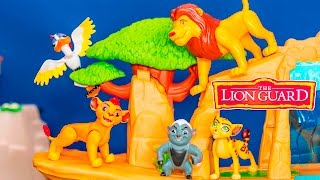 getlinkyoutube.com-LION GUARD Disney Lion Guard Multipack with Bunga + Kion Toys Video Unboxing