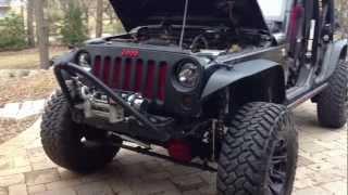 getlinkyoutube.com-07-13 Jeep JK Grill Mod Installation