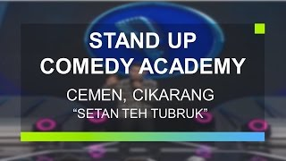 "getlinkyoutube.com-""Setan Teh Tubruk"" - Cemen, Cikarang (Peserta Grand Final Stand Up Comedy Academy)"