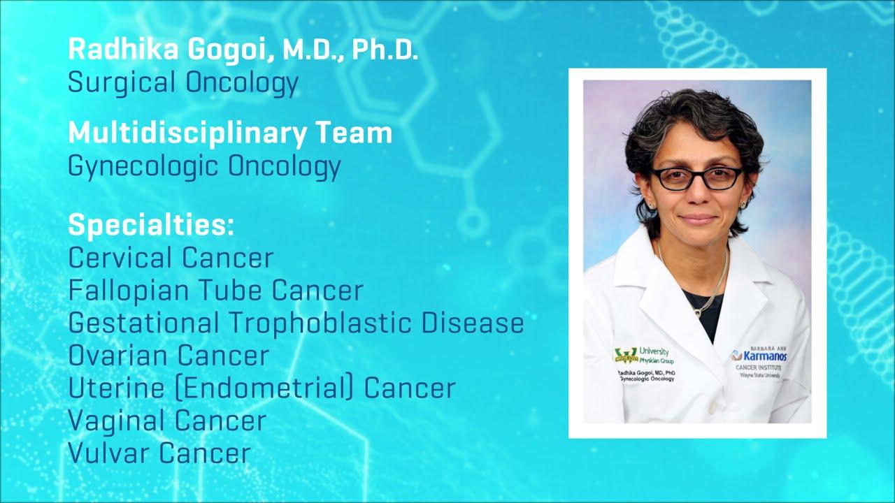 Meet Dr. Radhika Gogoi - Gynecologic Oncology video thumbnail