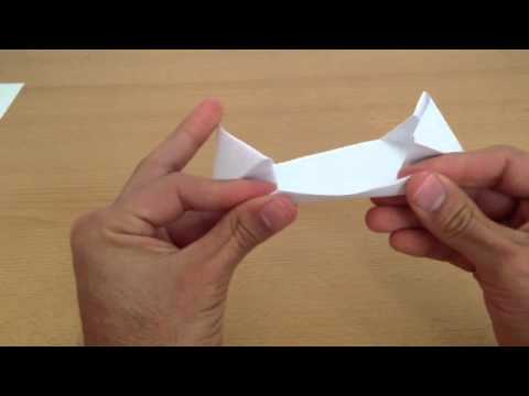 Manualidades origami: cmo hacer una nave espacial de papel - nave espacial de papiroflexia