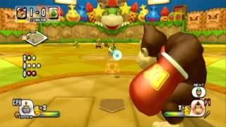 getlinkyoutube.com-Mario Super Sluggers Challenge Mode - Vs. Bowser Jr.
