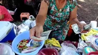 getlinkyoutube.com-Food at Angel Cruz Park - Yuav food noj tos park