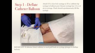 getlinkyoutube.com-Male Foley Catheter Removal - Best Practice Guidelines