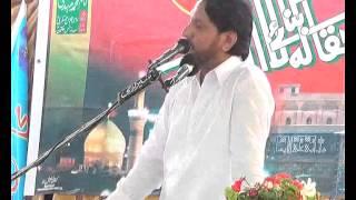 getlinkyoutube.com-Zakir iqbal Hussain shah bijar , Dharna , Majlis 4 sep 2014 at Sikandar abad Mianwali jalsa Ali Raza