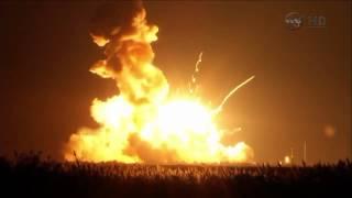getlinkyoutube.com-Wybuch rakiety Antares NASA