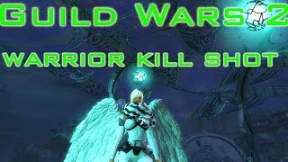 getlinkyoutube.com-Guild Wars 2 Warrior WvW Legendary New Build Kill Shot ! (New Patch)
