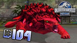 getlinkyoutube.com-Blood Ankylosaur! Brawlasaurs!! || Jurassic World - The Game - Ep 104 HD