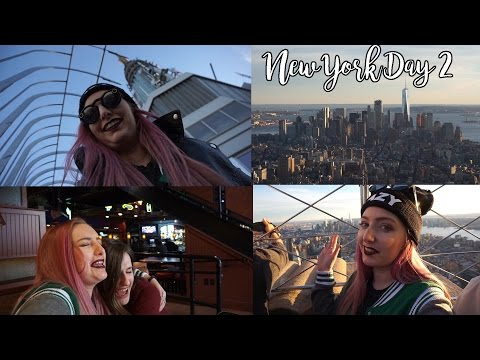 Meeting My Soulmate Kristen & Empire State Building! | NYC Day 2