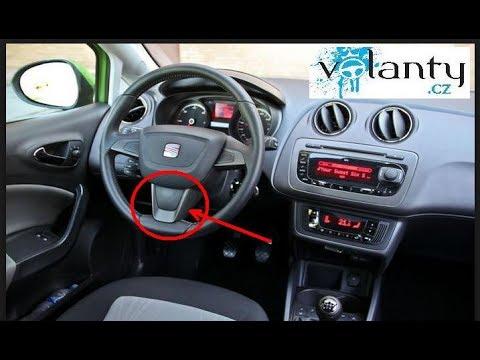 Как снять рулевое колесо Seat Ibiza 4