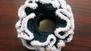 Double Crochet Scrunchie - Crochet Tutorial
