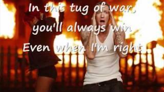 Rihanna Love The Way you Lie Part 2 ft Eminem Official Lyrics on screen [HQ]