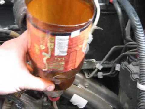 Будни грантовода - меняем транссмисионное масло в КПП гранты