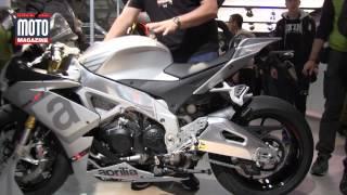 getlinkyoutube.com-Nouveauté moto 2015 : Aprilia RSV4 RR, une championne sur la route