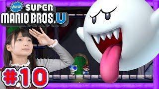 getlinkyoutube.com-#10【マリオU】WiiUでまりんかとドキドキな冒険に!W4-3~4【GameMarket】